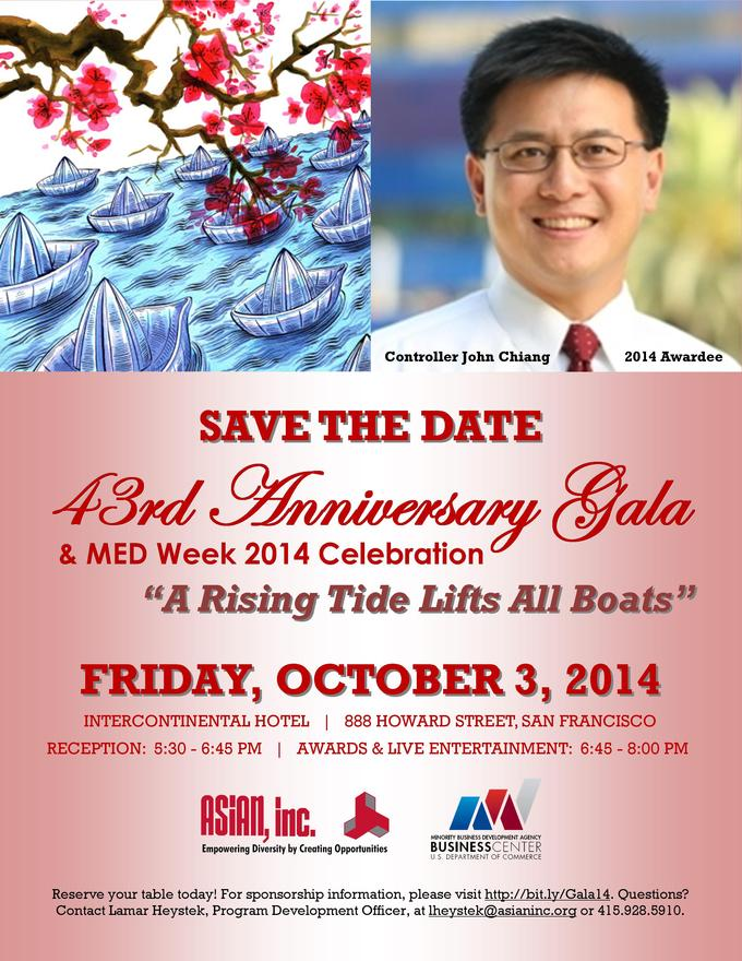 43rd Anniversary Gala & MED Week 2014 Celebration - October 3, 2014